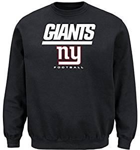 79707ef5d New York Giants NFL Men s Critical Victory Crewneck Sweatshirt Big   Tall  Sizes