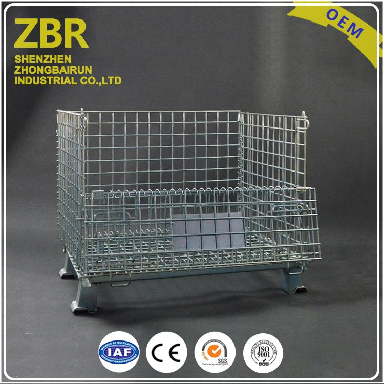Manufacturer Supply Eu Standard Warehouse Storage Cage Industrial Container Cages