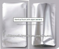 Various kinds of stand-up aluminum foil vacuum-sealed bags for food packaging