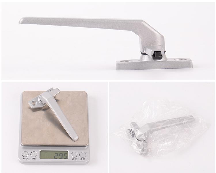 Hot sales Aluminum Zinc alloy white color lock Casement Door & Window Handles