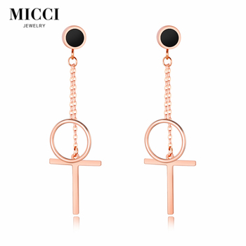 Hot selling sweet personality all-match jewelry fashion earrings for women