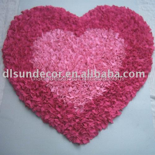 Heart Shape Shaggy Cotton Rag Rugs   Buy Heart Shape Cotton Rag Rugs,Shaggy Cotton  Rag Rugs,Heart Shape Rag Rugs Product On Alibaba.com