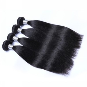Best Selling 11A Grade Natural Wholesale Brazilian Remy straight no tangle no shed human hair weave