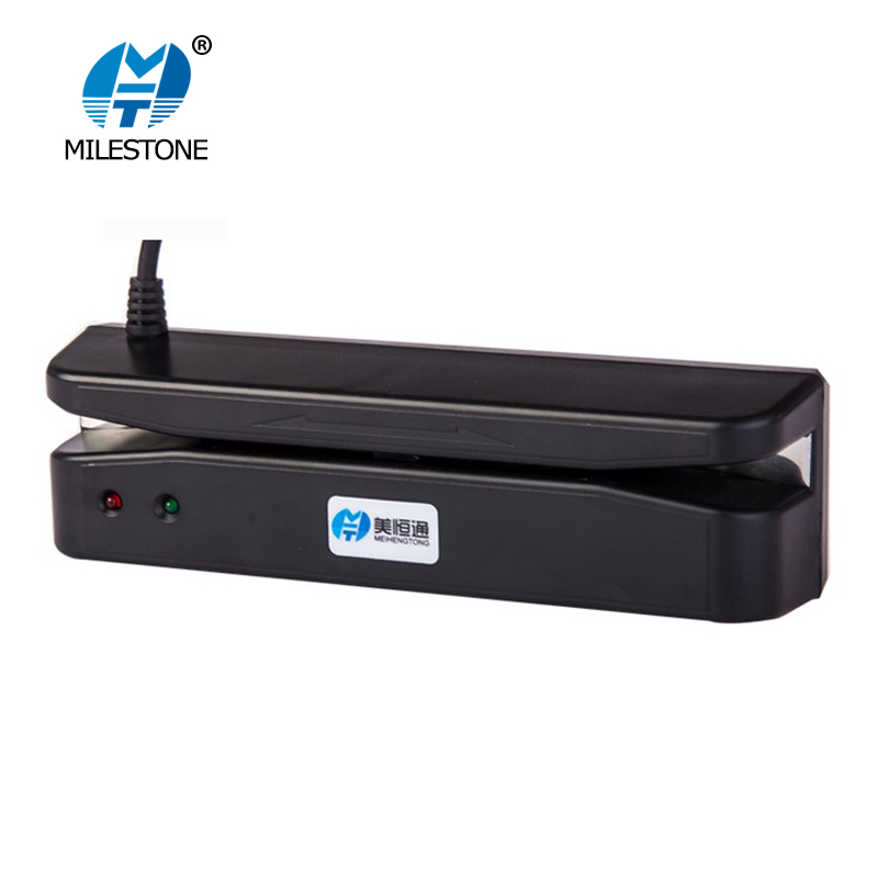 MHT-400 2 tracks 90mm MSR magnetic stripe credit card reader