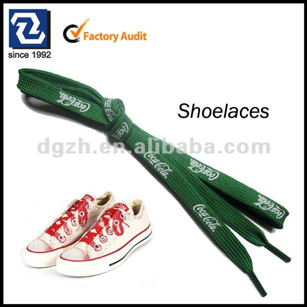 2017 Hot Selling High Quality Colorful Custom Logo Printed Shoelaces
