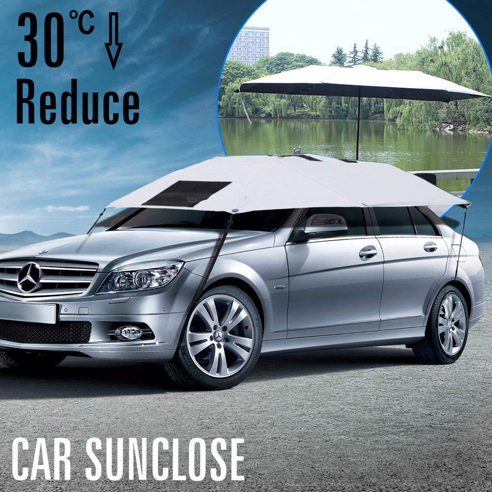 SUNCLOSE Factory car body cover fabric for mpv vehicle sunblind for car pretty ladies ruffle umbrella for wedding