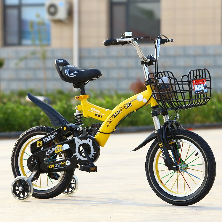 CE approved 16 child bike with training wheels / Hebei kids bike high quality / sport style children bicycle for 8 years old