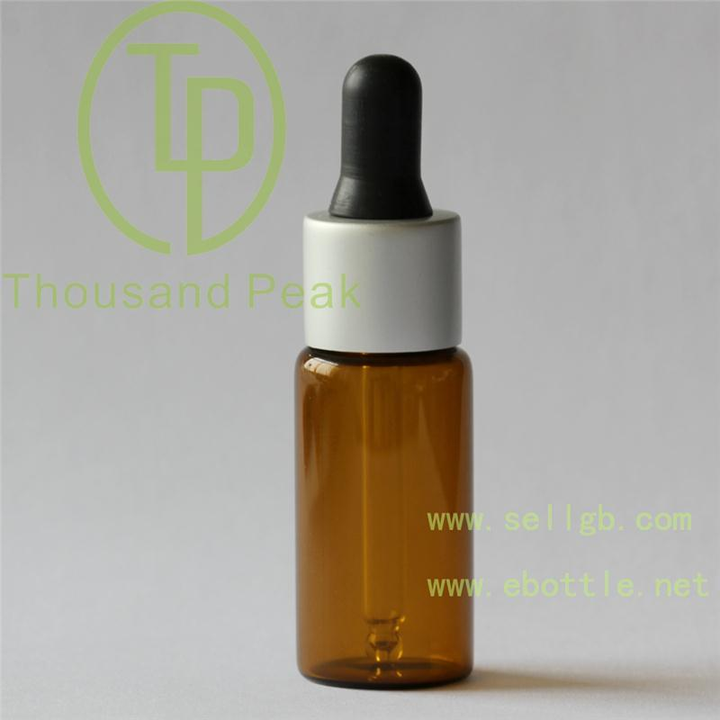 Hihg quality 20ml Serum Bottle with Gold pipette dropper glass bottle Aluminum Collar made in china