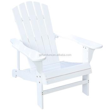 Outdoor Log Wood Adirondack Lounge Chair Patio Deck Garden Furniture