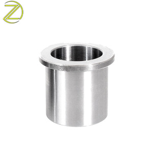 Customized CNC Sleeve Brass Bush Spring Reducing Thread Flange Metal Drill Bushing