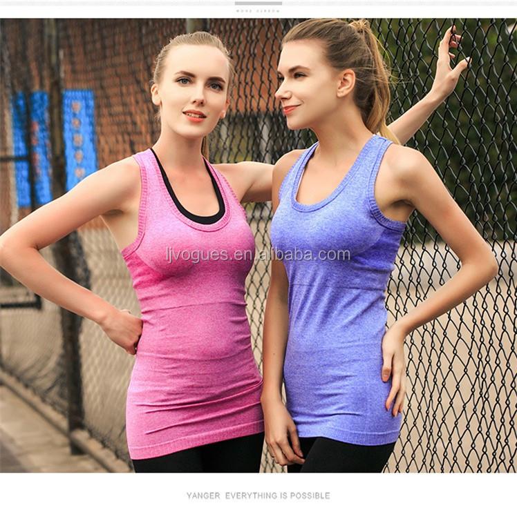 Womens Workout Tanktop Sport Top Gym Yoga S M L XL XXL 7