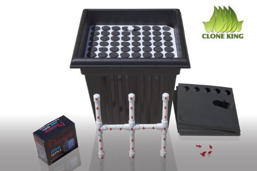 Clone King 64 Site Aeroponic Cloning Machine Cloner Expect 100% Success Rates!!!