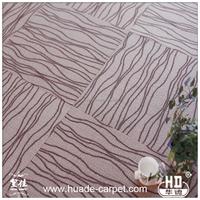 Fireproof Anti-slip Various Pictures of Nylon Carpet Tiles for Floor