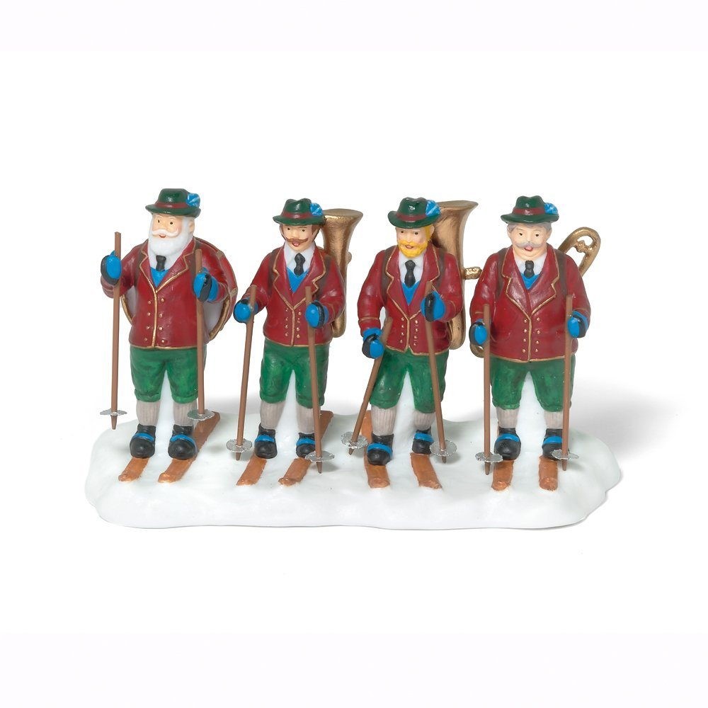 Department 56 Alpine Village Alpine Traveling Band