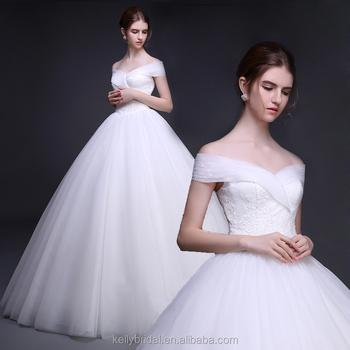 Alibaba Hot Selling Princess Soft Tulle Wedding Off Shoulder Bridal ...