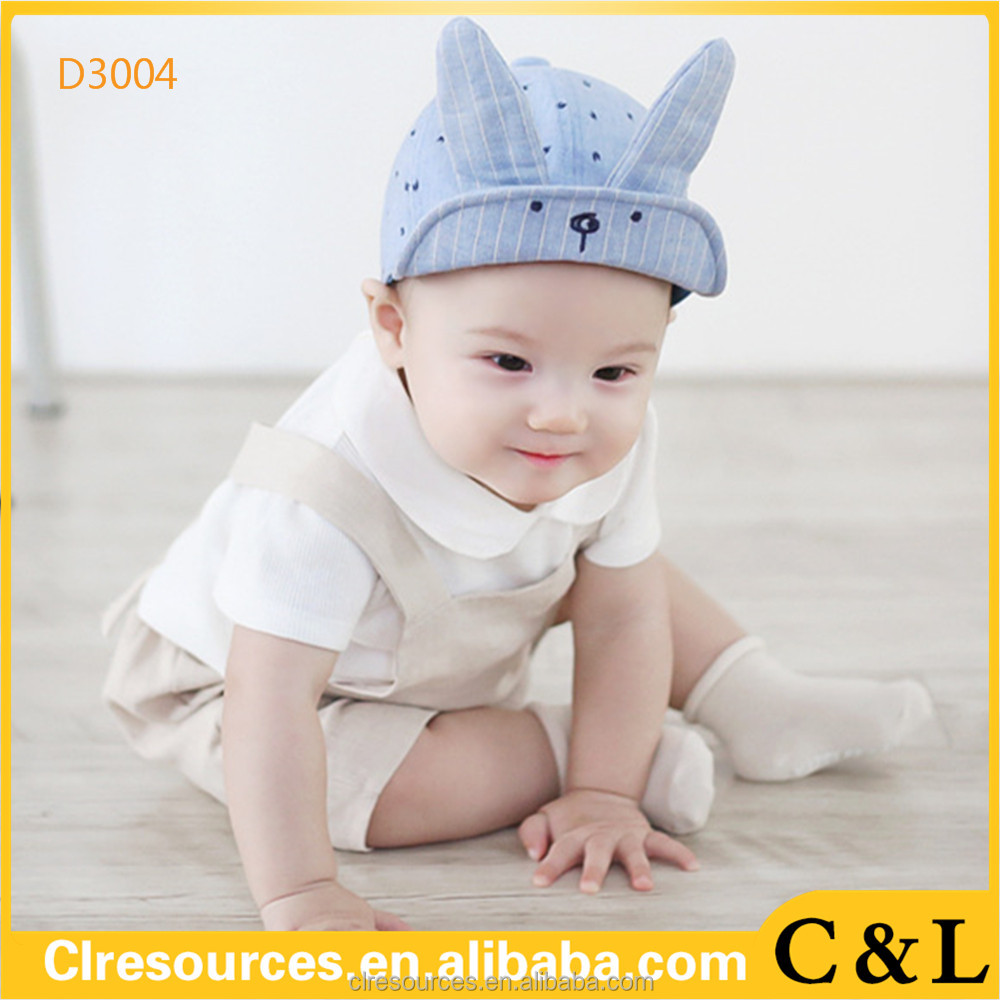 Baby Boys Girls kids Bunny baseball cap and hat
