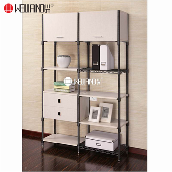 2017 New Model American Style Modern Living Room Wood Steel Knockdown  Storage Furniture