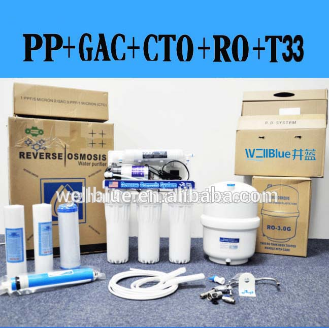 Intelligent RO water filteration system 5 stages drinking water purifier