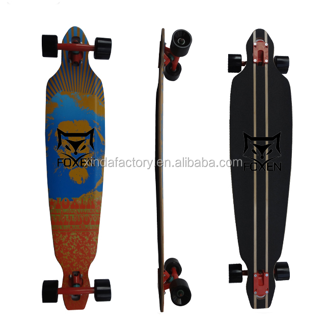 Custom 46*9.5 Complete Longboard ,Most Popular Dancing Board .Longboard