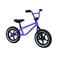 new BMX style kids balance / Steel rim 12 inch kids balance bike/balance bicycle for kids
