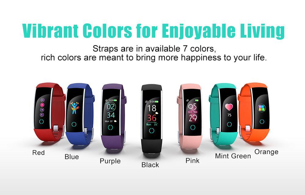 Waterproof Heart Rate Monitor Veryfit Smart Wristband