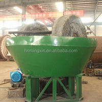 China Gold Grinding Machine Wet Pan Mill for Gold