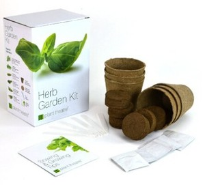 Your First Herbs&Flowers Mini Growing Kit Kids Gardening Educational Planting flower pot