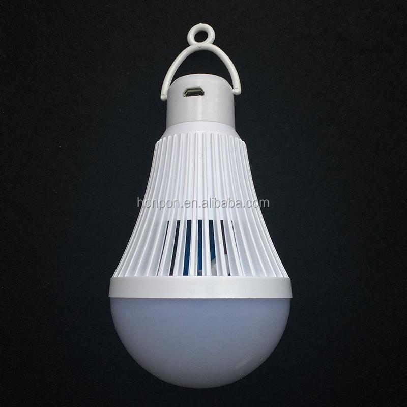 smart led bombilla e w acvv llev la luz de emergencia recargable lmpara