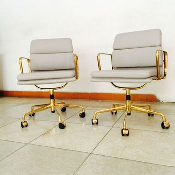 Herman Miller Ea217 Soft Pad Golden Design Chair Classic Office Furniture Buy Chair Classic Office Furniture Chair Office Product On Alibaba Com