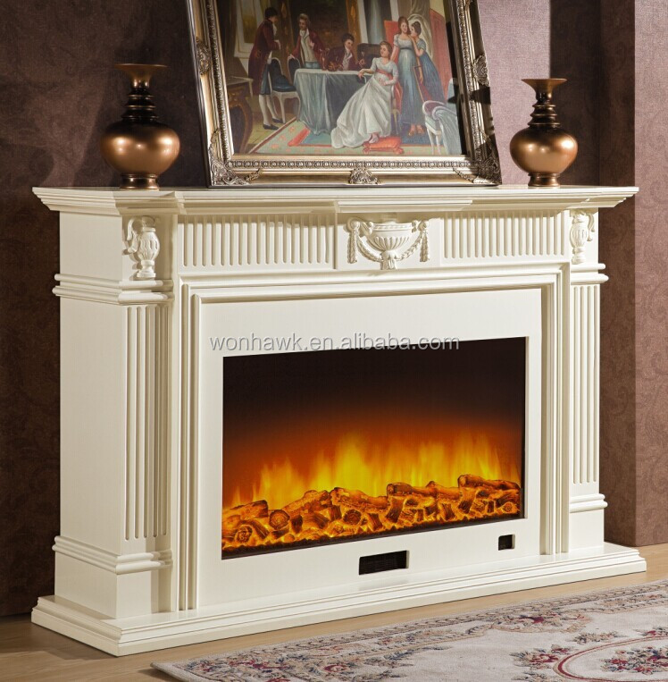 Electric Fireplace Large Mantle Fireplaces