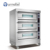 Commercial Kitchen Mobile Bakery Gas Cooker Bread Baking Convection Pizza Oven Machine