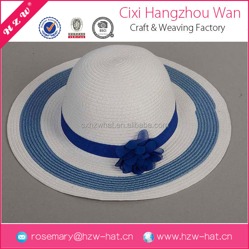 China wholesale high quality beach paper millinery straw hat