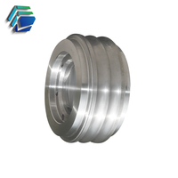 Tungsten Carbide - Steel Compound roll ring for bar in coil mill