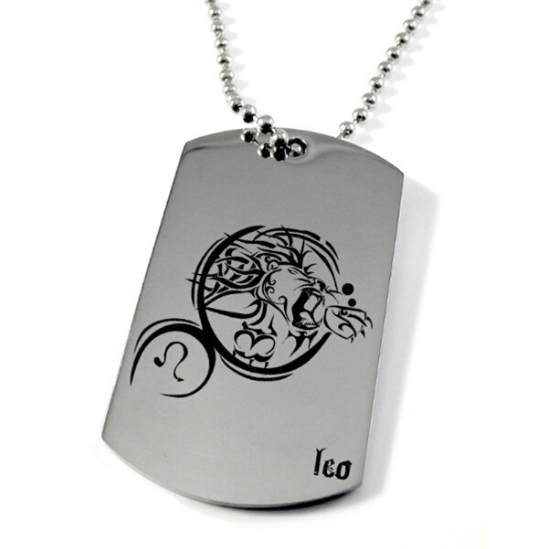 Yiwu Aceon Stainless Steel laser engraved personalized military dog tag pendant necklace