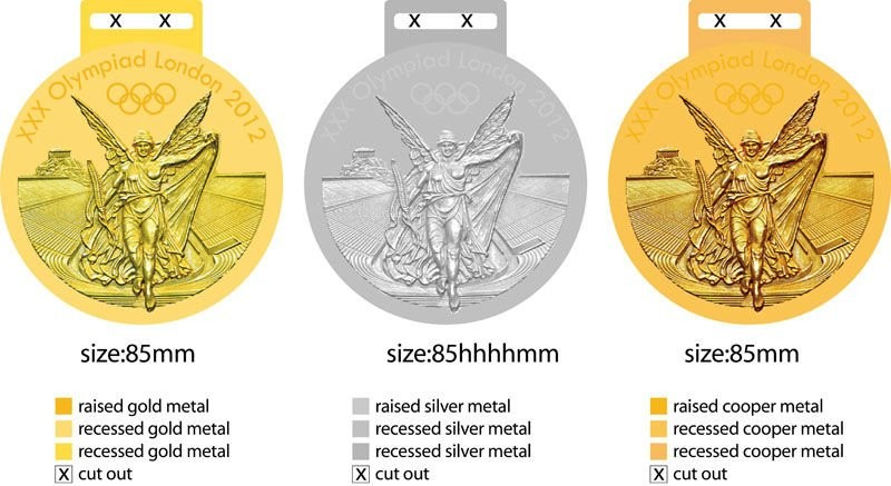 BSCI Disney factory gold zinc alloy custom sport medal