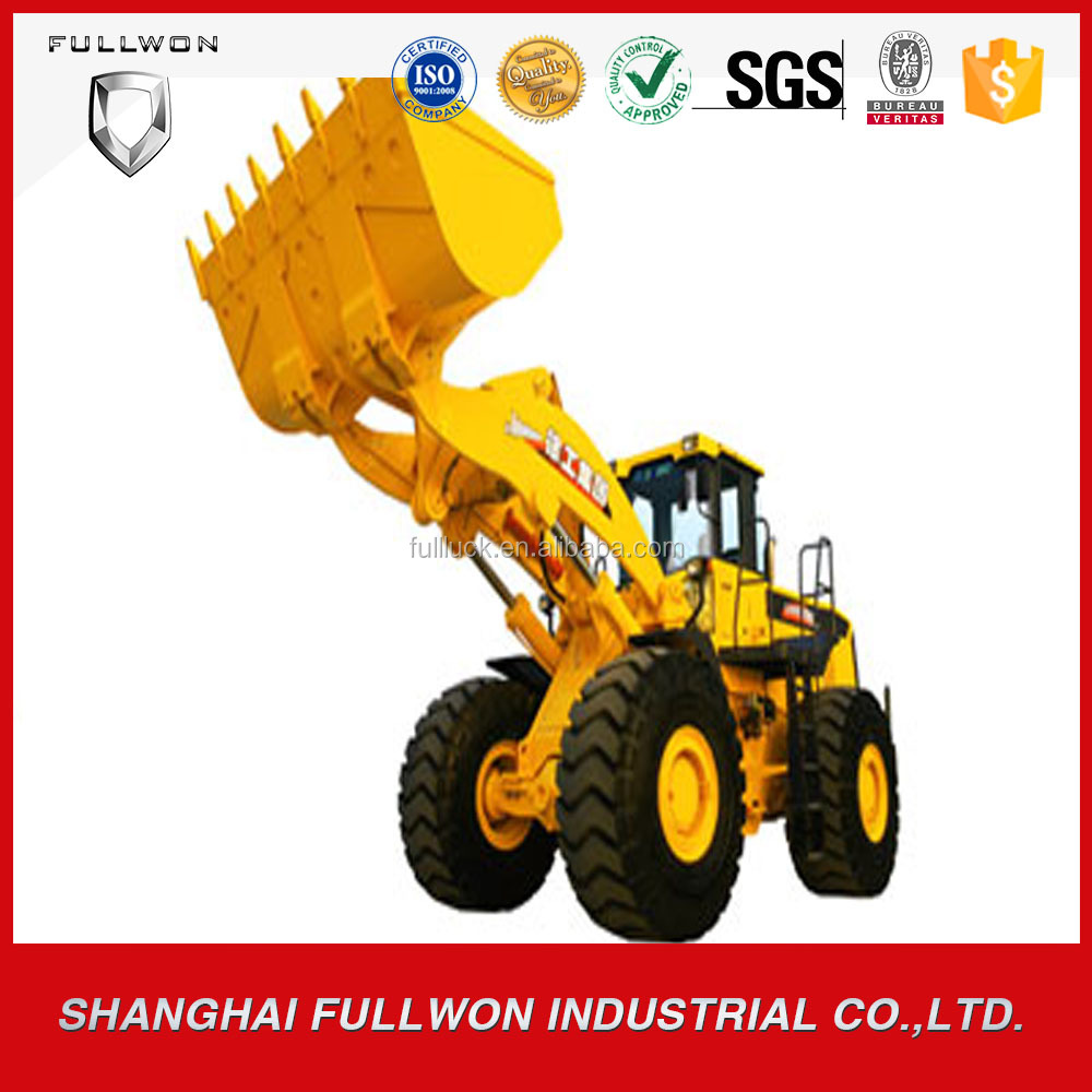construction machine well-equipped wheel loader for sale