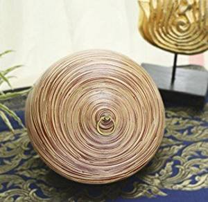 handmade bamboo baskets storage tank housed modern minimalist ornaments crafts creative home accessories