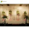 IDA White Color Wedding Backdrop Curtains and Swag Drapes