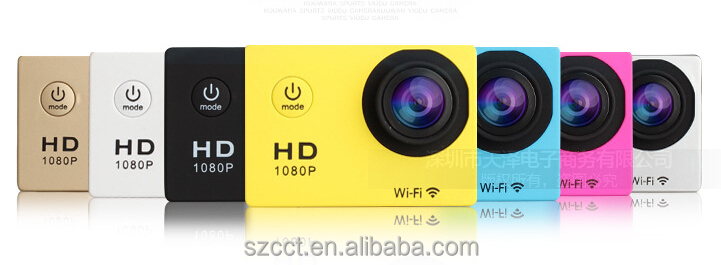 Hot !!!newest Full HD 1080P mini waterproof sj4000 wifi nopro sport camera