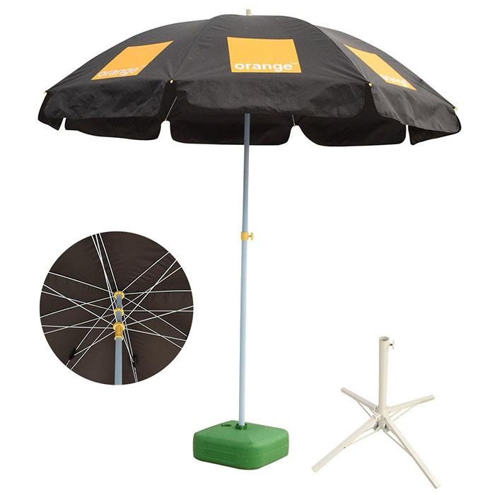 Parasol Umbrella Base Stand Sand Water Plastic Pole Garden Beach Patio Sun Shade