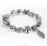 PDR158 fashion wholesale loose glass beads fit europen bracelet for women&kids