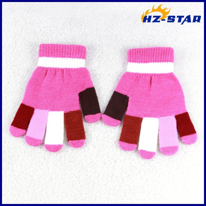 HZS-13243008 Women Winter Knitting fashion hot gloves