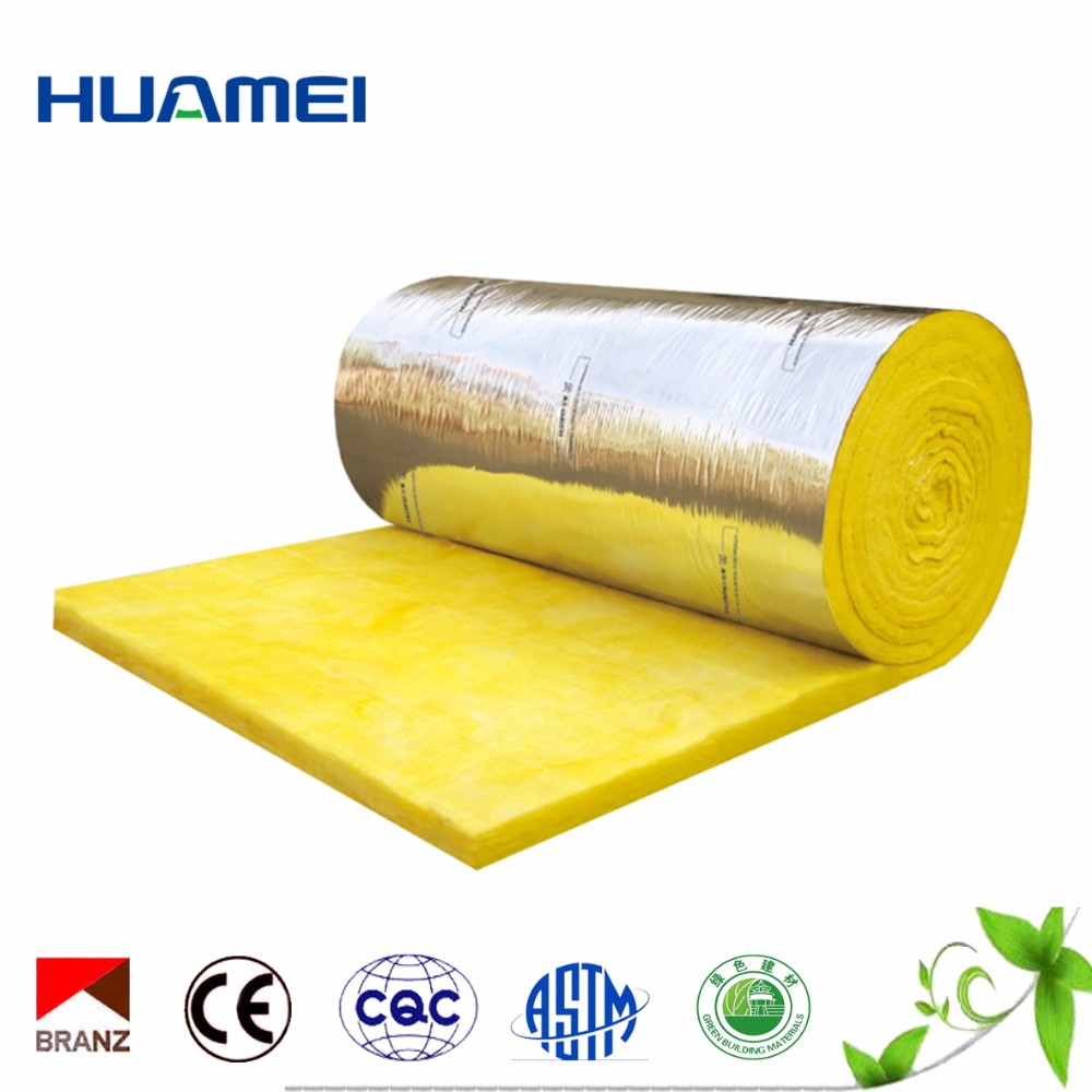glass wool heating insulation barrel blankets, fiberglass blanket acoustic insulation