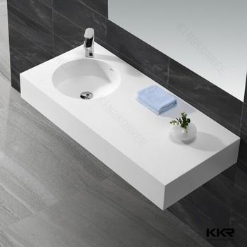 Solid Surface Wash Basin Bathroom Sinks