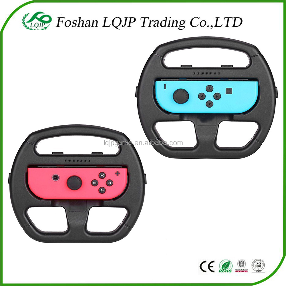 Left and Right Racing Game Steering Wheel Controller Grip For Nintendo Switch Racing Game Steering Wheel