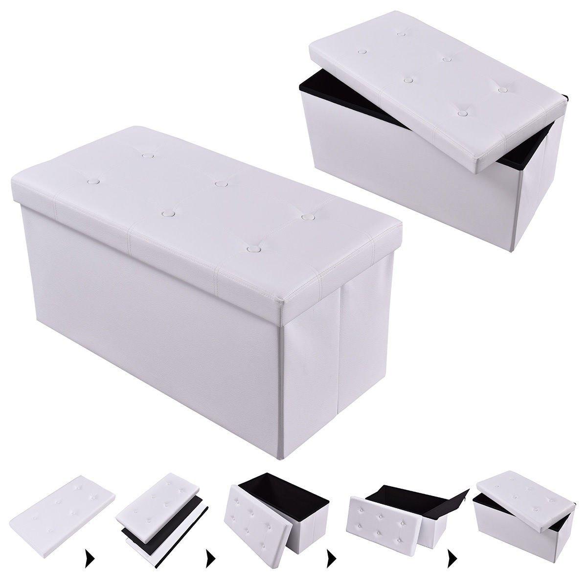 Superb Cheap White Ottoman Storage Box Find White Ottoman Storage Dailytribune Chair Design For Home Dailytribuneorg