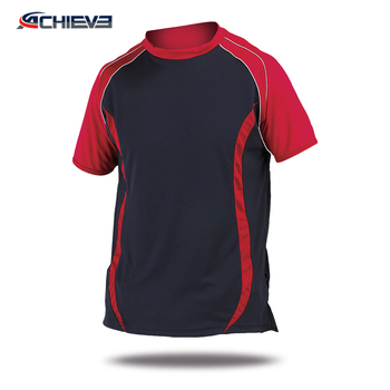 OEM wholesale Sublimated Cricket Team Jersey stand collar sports clothing for Adult or youth