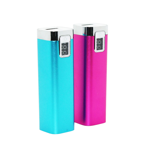 High quality power bank with led digital display wholesale factory price 2600mah powerbank