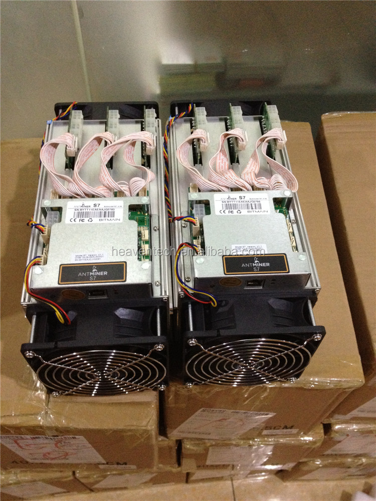 Bitmain Antminer S7 Bitcoin Miner - 4.73 TH/s @ 1293w - Newest Batch Mining Rig