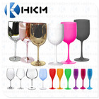 Unbreakable Bpa-free Plastic Wine Glasses/Break-resistant Restaurant high quality Champagne flutes